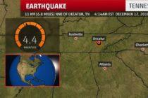 Dos sismos sacuden Tennessee
