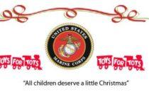 Colabora este domingo con la campaña anual Toys for Tots para los niños