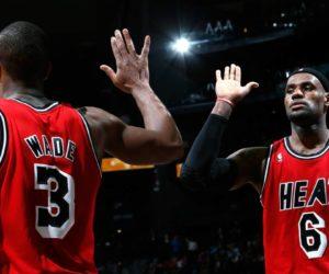 Wade y LeBron se verán las caras por última vez en duelo entre Heat y Lakers