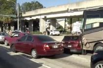 Accidente con 9 vehículos deja a más de 10 heridos en Miami