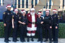 Policía de Miramar llevó la alegría de la Navidad a pacientes del Joe Dimaggio Children's Hospital