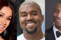 Cardi B, Kanye West y Pharrell Williams entre las estrellas que brillaron en Art Basel Miami