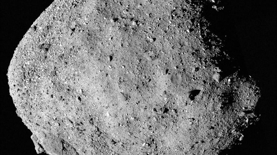 La NASA detecta agua en un asteroide