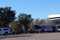 Choque de autobuses de Disney dejó un saldo de 15 personas heridas