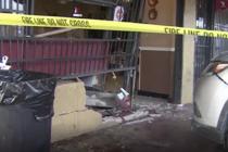 Varios hospitalizados tras choque de vehículo contra restaurante