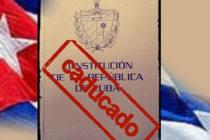 Cuba: el fin de la farsa constitucional