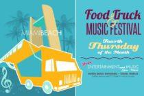 Familiares y amigos están invitados a disfrutar de una noche de música y camiones de comida