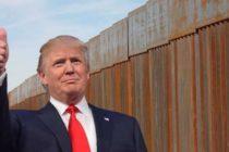 Casi $4.000 millones son desbloqueados por el Pentágono para construir un tramo del muro de Trump