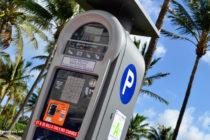 Vandalizan los medidores de estacionamiento ubicados en Miami Beach