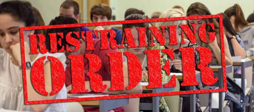Orden de restricción contra adolescente que agredió a compañero de clase