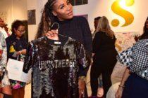 Serena Williams presentó su nueva colección en Art Basel Miami