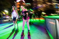 Bayskate Holiday Boogie, un pop-up de patinaje sobre ruedas, se adentra en Miami