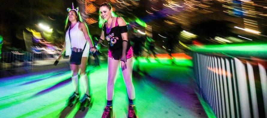 Bayskate Holiday Boogie, un pop-up de patinaje sobre ruedas, se adentra en Miami