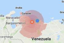 Temblor de 6.1 grados despertó a los venezolanos