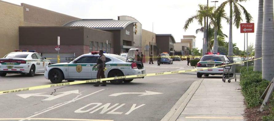 Hombre disparó en las afueras del Walmart del noroeste de Miami-Dade