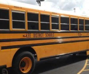 Choferes de autobuses escolares descubiertas teniendo sexo cuando laboraban
