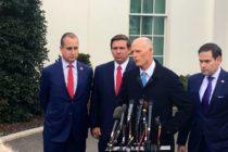 Senadores de Florida se reunieron con Trump para discutir situación de Venezuela