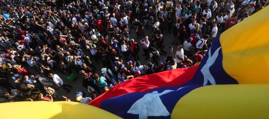 Presidente interino Juan Guaidó ratifica que continuará en la lucha hasta que se alcance la libertad de Venezuela