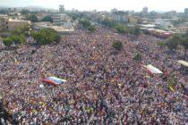 Los venezolanos tomaron la calle