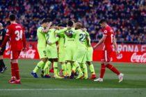 Barcelona venció al Girona en el partido que se jugaría en Miami