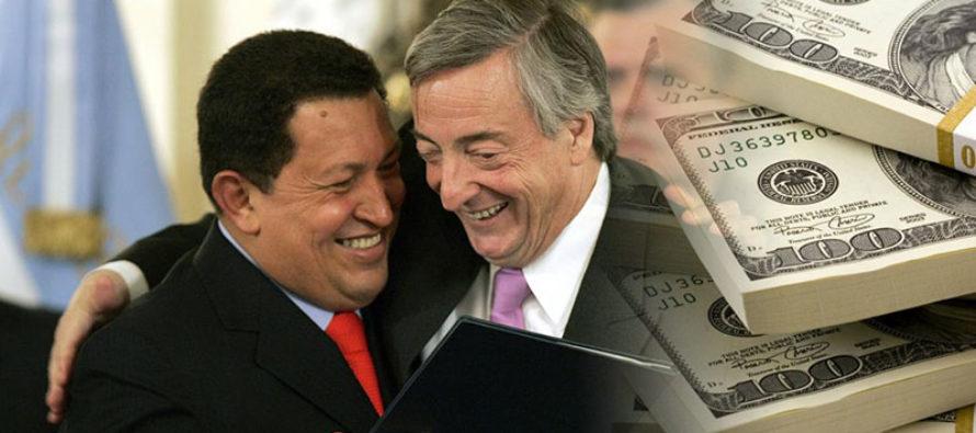 Así fue como Chávez y Kirchner se repartieron 50 millones de dólares