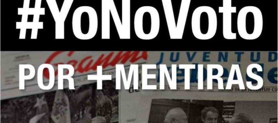 Oposición en Cuba llama a no votar en referendo constitucional
