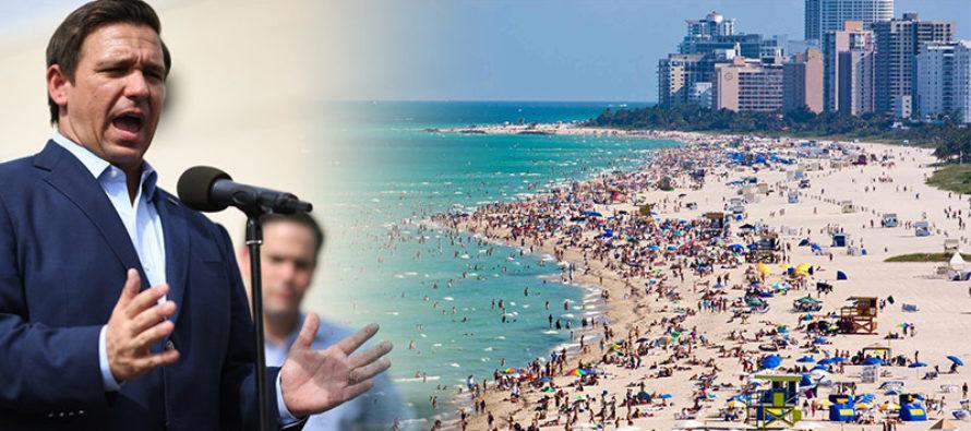 Playas de Florida reciben una «D» en su evaluación anual