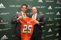 Manny Díaz anunció cambios en su staff de los Miami Hurricanes