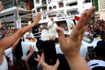 El papa Francisco llegó a Panamá para celebrar la Jornada Mundial de la Juventud