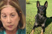 Arrestan a mujer por amenaza de tiroteo en funeral de perro policía en Florida