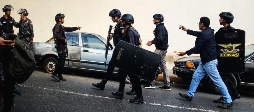Se entregaron militares alzados en Caracas