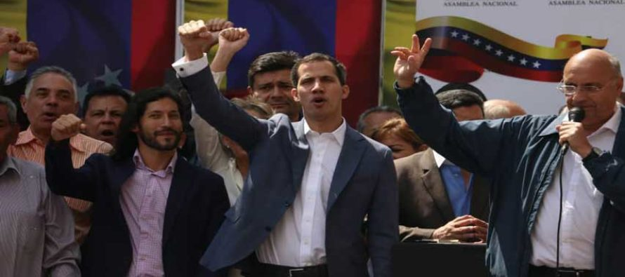Gobierno de Donald Trump respalda decisión del presidente de la AN Juan Guaidó