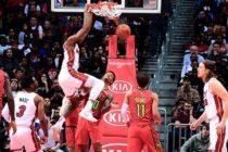 Heat se llevó una paliza de su visita a los Hawks en Atlanta