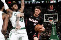 Heat no pudo frenar la racha positiva de Celtics en Boston