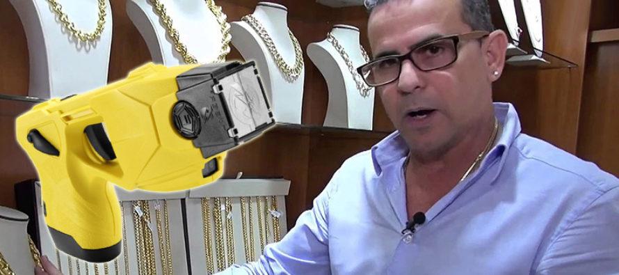 Joyero cubano Grimal fue asaltado a punta de pistola taser