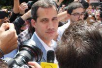 Guaidó apelará a la cooperación extranjera para sacar a Maduro