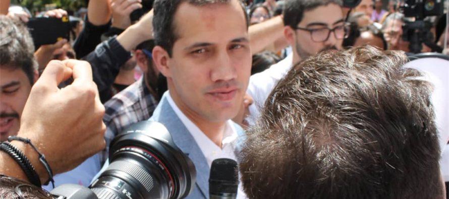Régimen intenta intimidar a Juan Guaidó enviando al FAES a donde estaba su hija