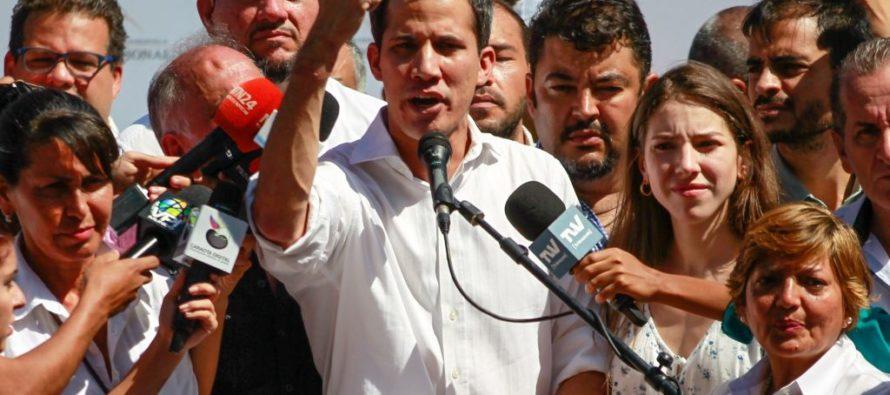 Juan Guaidó convocó a los venezolanos a marchar el 23 de enero por el cese de la «usurpación»