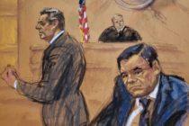 Tribunal condenó a cadena perpetua al Chapo Guzman