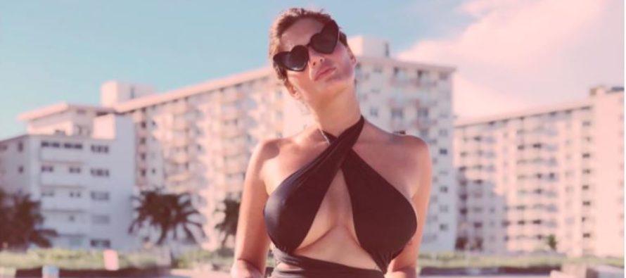 Magali Mora reconoce que en Miami se cruzó con Luis Miguel