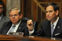 Senadores Marco Rubio y Bob Menéndez apoyan al presidente interino de Venezuela