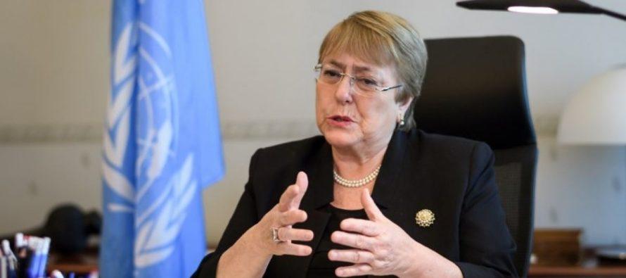 Bachelet teme que situación en Venezuela pueda salirse de control