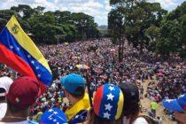 Con fuerza y entusiasmo venezolanos coparon las calles para exigir salida de Nicolás Maduro