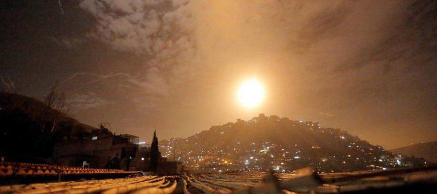 11 muertos en ataque de Israel contra objetivos iraníes en Siria