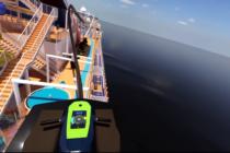 ¿Se atrevería a subirse a una montaña rusa en un crucero?