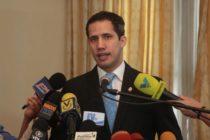 Guaidó denunció que este lunes régimen pretende disolver parlamento de Venezuela