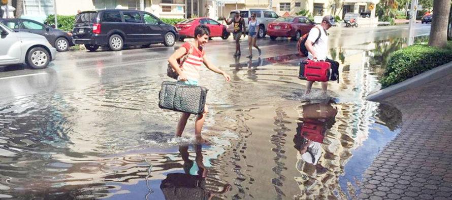 El cambio climático está contribuyendo para que Miami se hunda