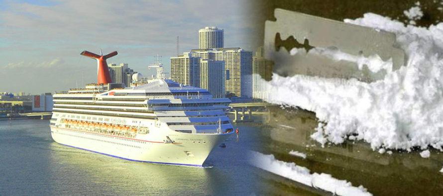 Tripulante de crucero arrestado por contrabando de cocaína