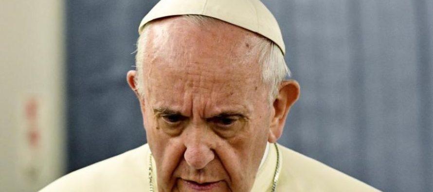 Papa Francisco teme derramamiento de sangre en Venezuela
