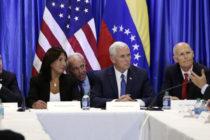 Mike Pence buscará apoyo para Juan Guaidó en Miami